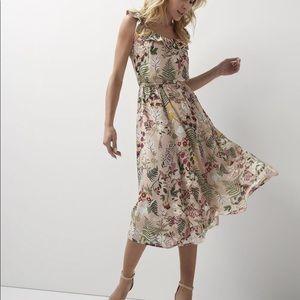 RW&CO Floral Midi Dress